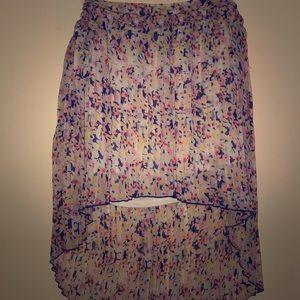 Charlotte Russe Floral skirt.